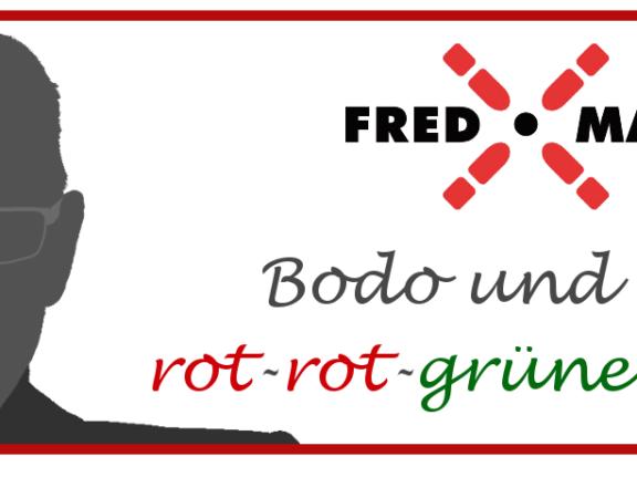 Bodo und der rot-rot-grüne Schuh