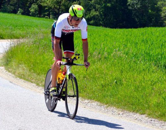Triathlet Markus Liebelt
